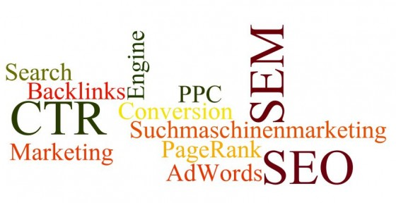 Glossar: SEO, SEM, Suchmschinenmarketing. Martina Dalla Vecchia